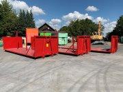 Abrollcontainer 3 Stk. Plattform teilw. m. Rückwand Abrollcontainer