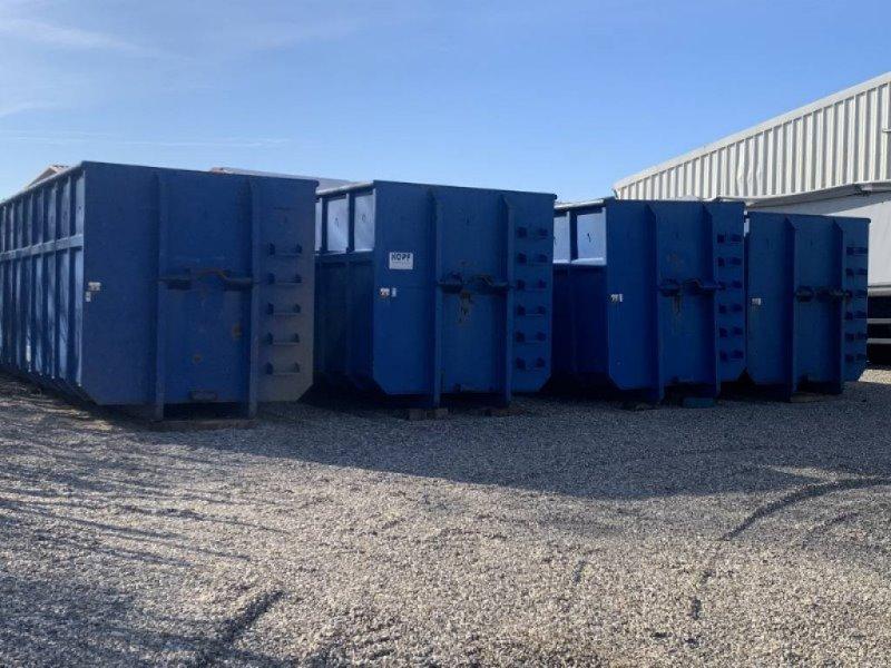 Abrollcontainer typu BECO Mulde 38 m³ für Hakenlift, Gebrauchtmaschine w Schutterzell (Zdjęcie 1)