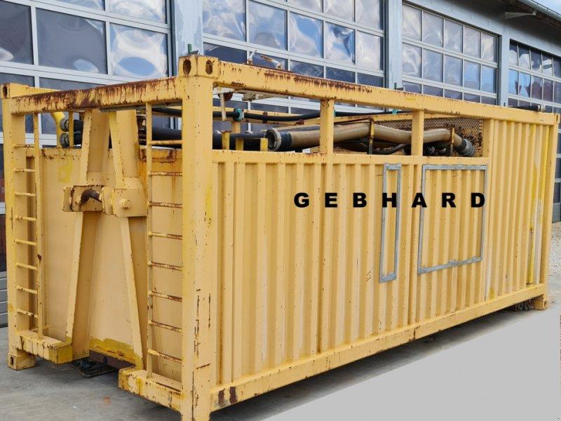 Abrollcontainer des Typs BS Augsburg Wasser-Abrolltank mit Sprühbalken, Motor und Pumpe, 20 Fuß Seecontainer als, Gebrauchtmaschine in Großschönbrunn (Bild 1)