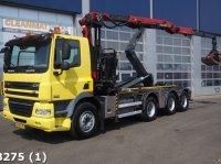 DAF 85 CF 410 8x4 Euro 5 Palfinger 17 ton/meter Z-laadkraan Abrollcontainer
