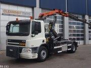 DAF FA 75 CF 310 Palfinger 11 ton/meter laadkraan Slechts 64.077 km! Abrollcontainer