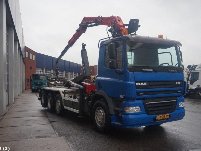 Abrollcontainer des Typs DAF FAK 85 CF 410 Palfinger 15 ton/meter Z-kraan, Gebrauchtmaschine in ANDELST (Bild 4)