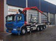 Abrollcontainer tip DAF FAK 85 CF 410 Palfinger 15 ton/meter Z-kraan, Gebrauchtmaschine in ANDELST
