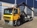 Abrollcontainer tip DAF FAN 75 CF 310 Hiab 12 ton/meter laadkraan in ANDELST