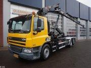 DAF FAN 75 CF 310 Hiab 22 ton/meter laadkraan Εμπορευματοκιβώτιο μεταφοράς