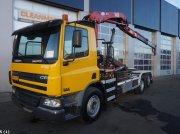 DAF FAN 75 CF 310 HMF 14 ton/meter laadkraan Containere cu role