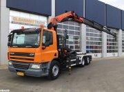 Abrollcontainer typu DAF FAN 75 CF 310 Palfinger 23 ton/meter laadkraan, Gebrauchtmaschine w ANDELST