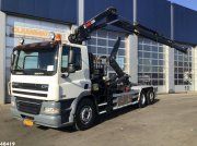 Abrollcontainer typu DAF FAN 85 CF 410 Hiab 22 ton/meter laadkraan, Gebrauchtmaschine w ANDELST