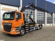 Abrollcontainer des Typs DAF FAN CF 430 HMF 23 ton/meter laadkraan, Gebrauchtmaschine in ANDELST