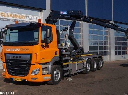 DAF FAQ CF 430 HMF 26 ton/meter laadkraan Съемный контейнер