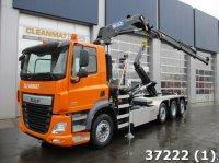 DAF FAQ CF 460 8x2 HMF 26 ton/meter laadkraan Abrollcontainer