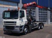 DAF FAT 85 CF 380 6x4 HMF 12 ton/meter laadkraan Abrollcontainer