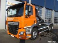 DAF FAT CF 410 6x4 Abrollcontainer