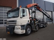 Abrollcontainer tip DAF FAX 85 CF 410 8x2 Palfinger 27 ton/meter laadkraan, Gebrauchtmaschine in ANDELST