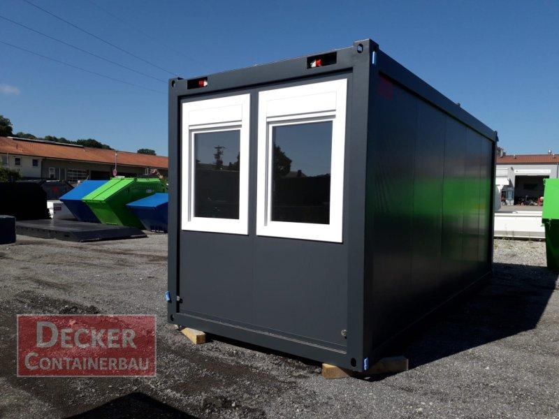 Abrollcontainer tipa Decker Container Bürocontainer, Neumaschine u Armstorf (Slika 1)