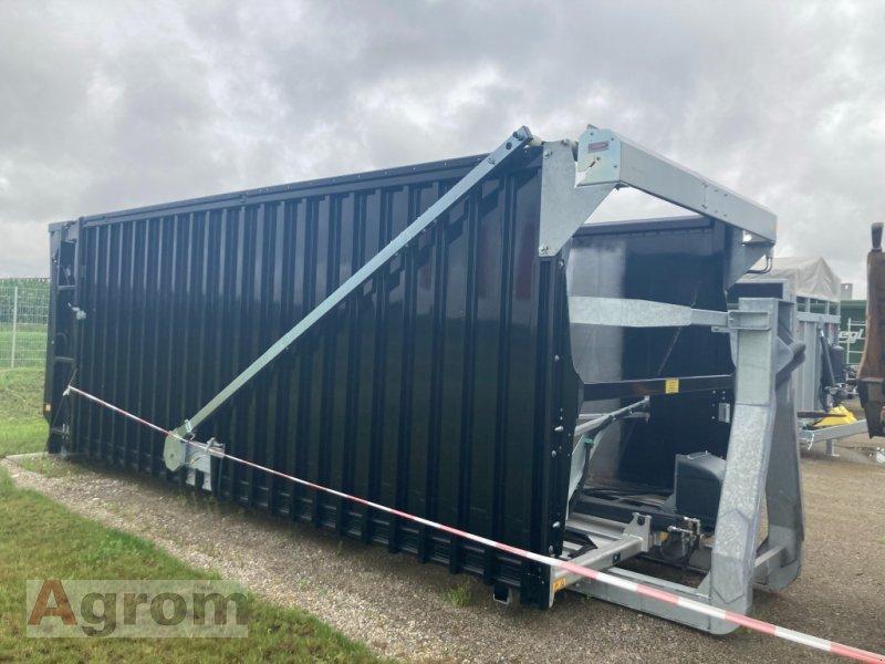 Abrollcontainer des Typs Fliegl ASA 7100 - Abschiebeaufbau Hakenlift, Neumaschine in Meißenheim-Kürzell (Bild 1)