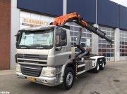 Ginaf X 3232 S 6x4 Euro 5 Palfinger 20 ton/meter laadkraan Hook lift trailer body
