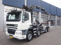 Ginaf X 4241 S 8x4 Palfinger 17 ton/meter Z-kraan Containere cu role