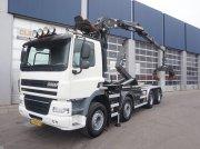 Abrollcontainer tip Ginaf X 4241 S 8x4 Palfinger 17 ton/meter Z-kraan, Gebrauchtmaschine in ANDELST