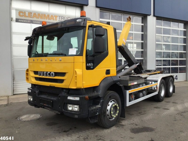Abrollcontainer des Typs Iveco Stralis AD260T45 6x4 Manual Full steel, Gebrauchtmaschine in ANDELST (Bild 1)