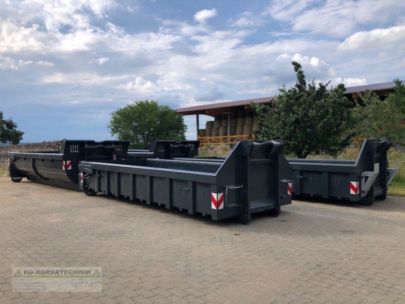 Abrollcontainer des Typs KG-AGRAR Abrollcontainer Bauschuttcontainer hyd. Klappe, Neumaschine in Langensendelbach (Bild 1)
