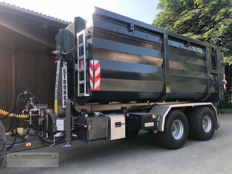 Abrollcontainer типа KG-AGRAR Abrollcontainer Silagecontainer 38m3 sofort verfügbar, Neumaschine в Langensendelbach (Фотография 1)