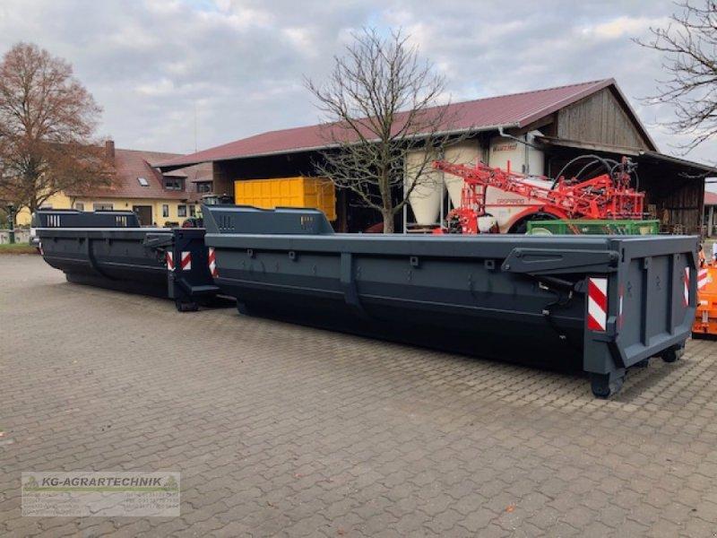 Abrollcontainer des Typs KG-AGRAR Halfpipe Hardox Abrollcontainer, Neumaschine in Langensendelbach (Bild 1)