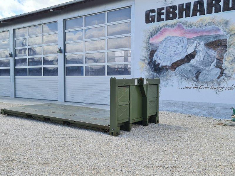 Abrollcontainer typu Lohr Abroll Plateau für Hackenlift/Abrollbrücke für Maschinentransport mit Twistlock, Gebrauchtmaschine w Großschönbrunn (Zdjęcie 1)