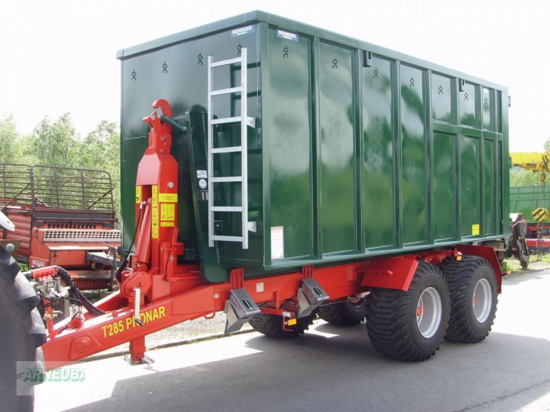 Abrollcontainer des Typs PRONAR T 285/1, Neumaschine in Schlettau (Bild 1)