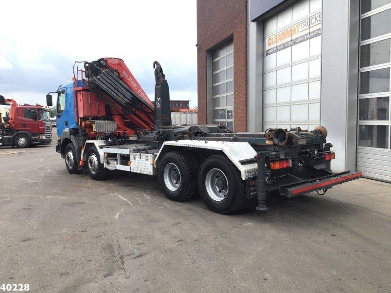 Abrollcontainer typu Renault Kerax 420 8x4 Fassi 33 ton/meter laadkraan, Gebrauchtmaschine w ANDELST (Zdjęcie 2)