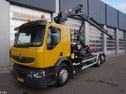 Renault PREMIUM 370 Hiab 20 ton/meter laadkraan Съемный контейнер