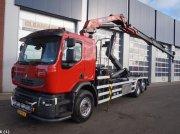Renault PREMIUM 380 HMF 20 ton/meter laadkraan Pojazdný kontajner