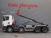 Scania 124C 470 8x4 20 tons hooklift Abrollcontainer