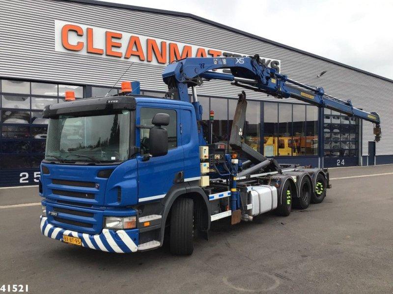 Abrollcontainer типа Scania G 380 8x2 Hiab 21 ton/meter laadkraan, Gebrauchtmaschine в ANDELST (Фотография 1)