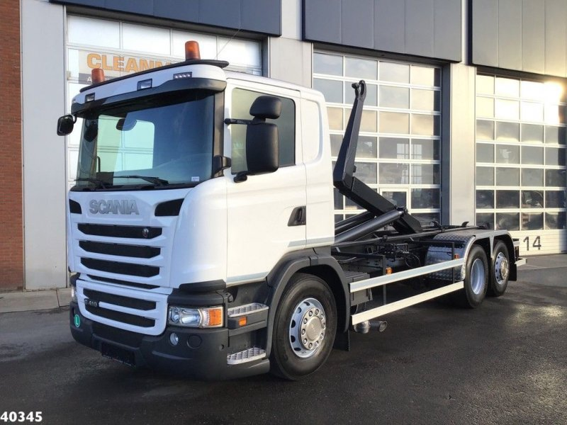 Abrollcontainer des Typs Scania G 410 Euro 6, Gebrauchtmaschine in ANDELST (Bild 1)