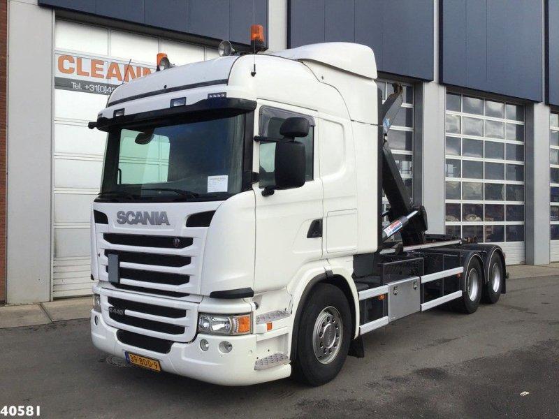 Abrollcontainer типа Scania G 440 Retarder, Gebrauchtmaschine в ANDELST (Фотография 1)