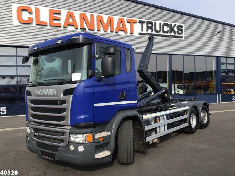 Abrollcontainer типа Scania G 450 Euro 6, Gebrauchtmaschine в ANDELST (Фотография 1)