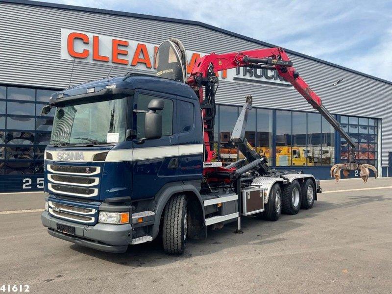 Abrollcontainer типа Scania G 490 Euro 6 Palfinger 17 ton/meter Z-kraan, Gebrauchtmaschine в ANDELST (Фотография 1)