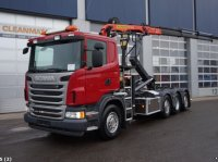 Scania G440 8x2 Euro 5 Retarder Kontener na kółkach