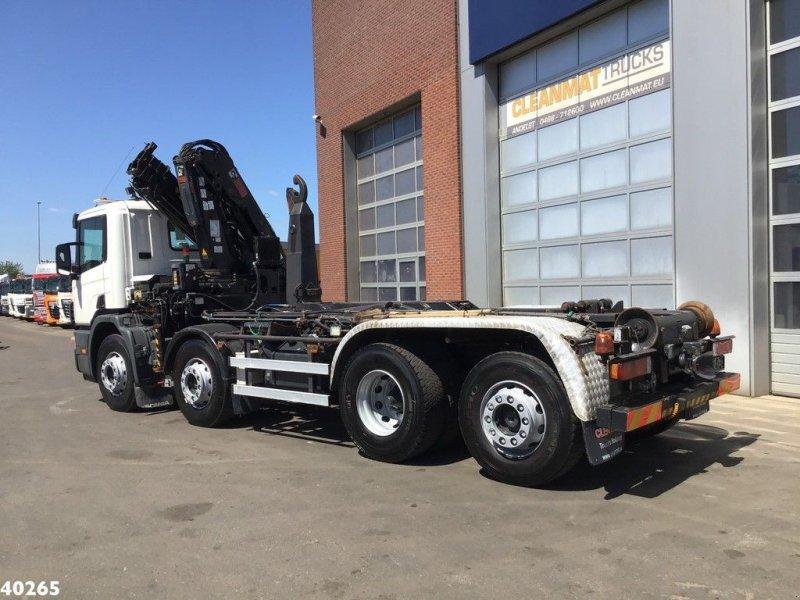 Abrollcontainer tip Scania P 114.380 Palfinger 16 ton/meter laadkraan, Gebrauchtmaschine in ANDELST (Poză 3)