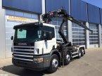 Abrollcontainer a típus Scania P 114.380 Palfinger 16 ton/meter laadkraan ekkor: ANDELST