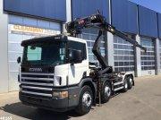 Abrollcontainer tip Scania P 114.380 Palfinger 16 ton/meter laadkraan, Gebrauchtmaschine in ANDELST
