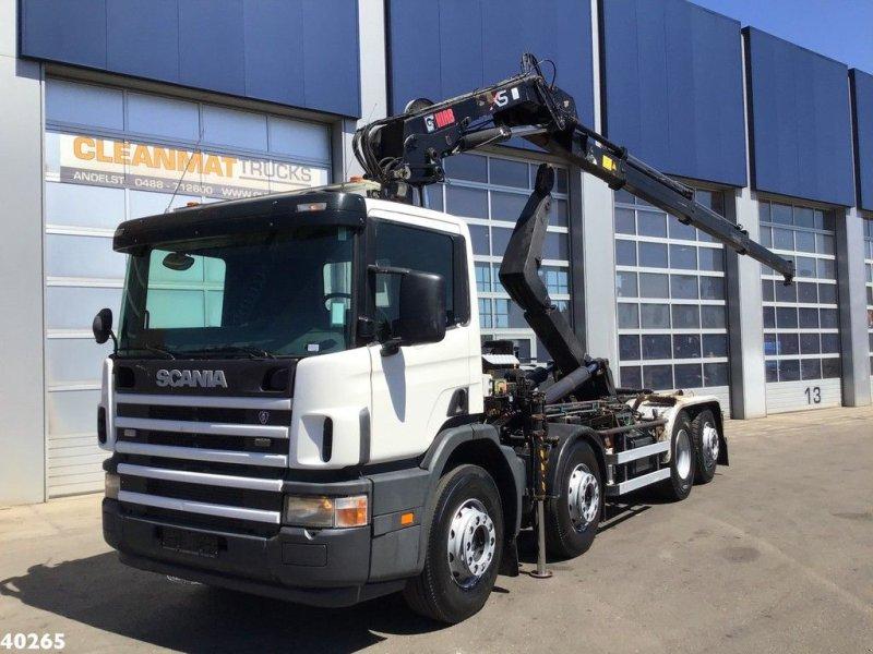 Abrollcontainer tip Scania P 114.380 Palfinger 16 ton/meter laadkraan, Gebrauchtmaschine in ANDELST (Poză 1)