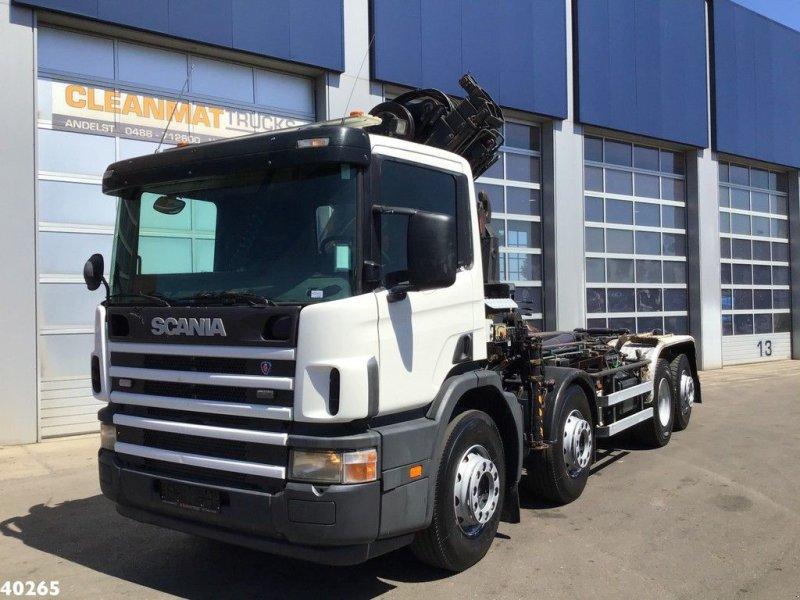 Abrollcontainer tip Scania P 114.380 Palfinger 16 ton/meter laadkraan, Gebrauchtmaschine in ANDELST (Poză 2)