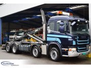 Scania P 420, Euro 5, 8x2, Manuel, 2015 system!, Truckcenter Ape Abrollcontainer