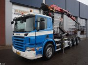 Scania P 420 Euro 5 Palfinger 14 ton/meter Z-kraan Εμπορευματοκιβώτιο μεταφοράς