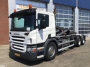 Abrollcontainer des Typs Scania P 420 Opticruise 3 pedals, Gebrauchtmaschine in ANDELST