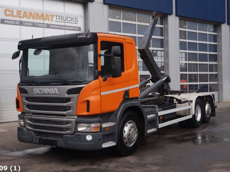 Abrollcontainer of the type Scania P 440 Euro 5 Manual, Gebrauchtmaschine in ANDELST (Picture 1)