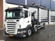 Abrollcontainer typu Scania R 420 Euro 5 Hiab 22 ton/meter laadkraan, Gebrauchtmaschine w ANDELST
