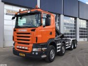 Abrollcontainer des Typs Scania R 480 8x4 Manual Full steel, Gebrauchtmaschine in ANDELST